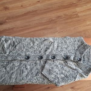 The Limited Gray Button Up Cardigan, Size L
